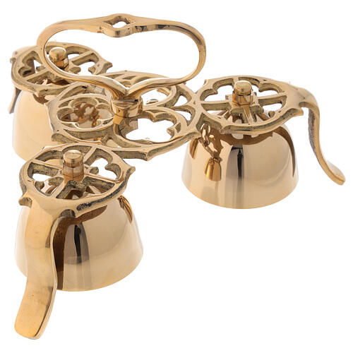 Liturgical bell three sounds gothic decoration 1