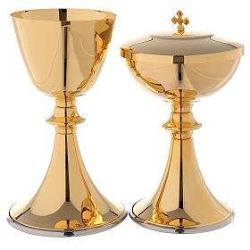 Classic style chalice and ciborium s1
