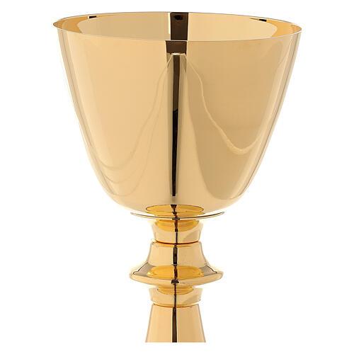 Classic style chalice and ciborium 3