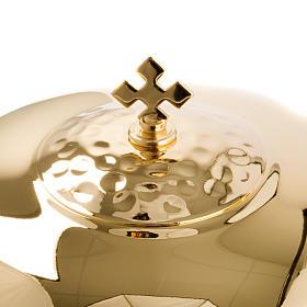 Calice et ciboire avec anneau émaillé s4