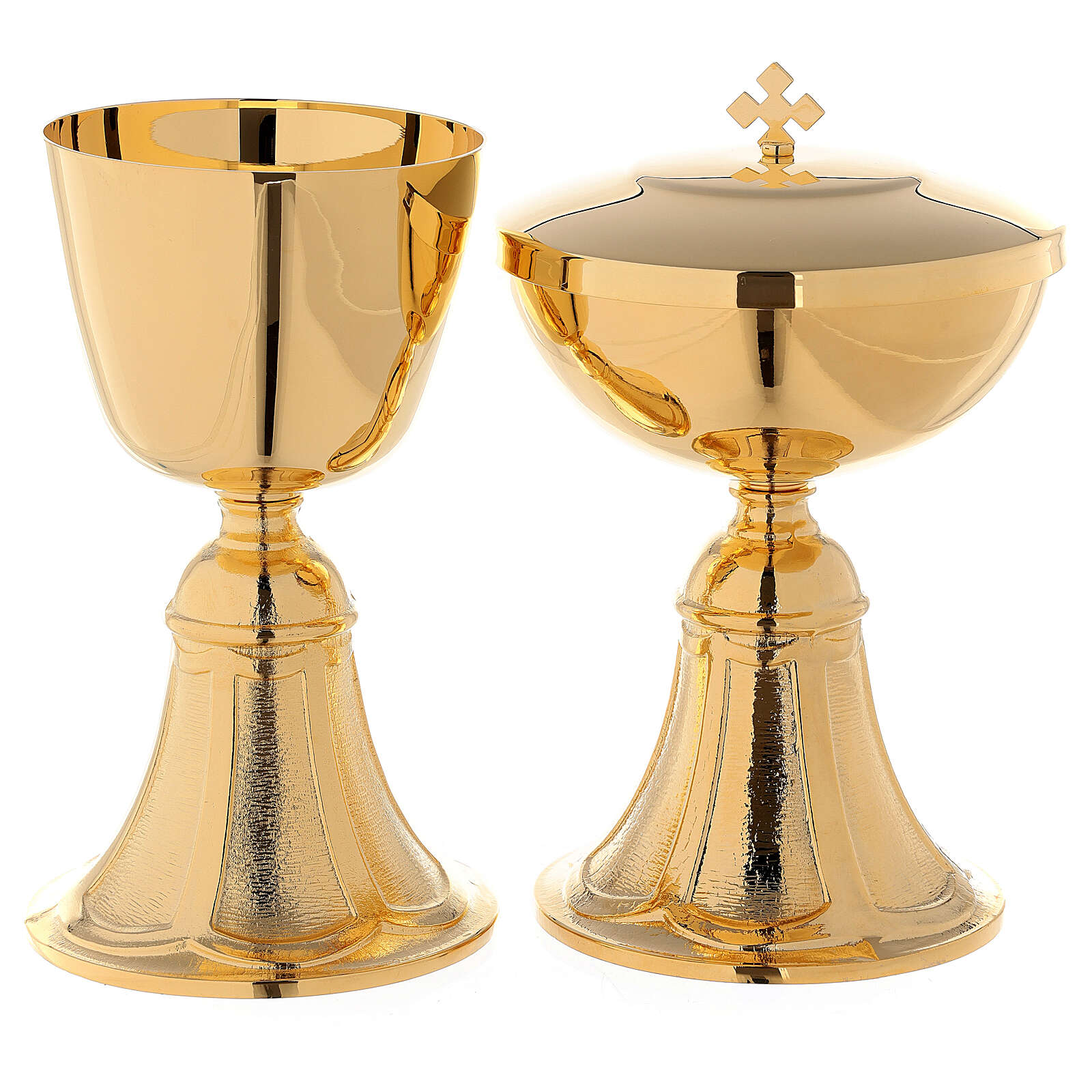 Chalice and Ciborium with cast brass foot 4