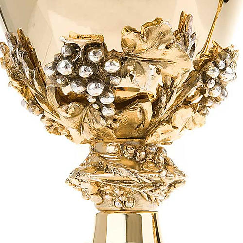 Chalice and ciborium with pewter decoration 6