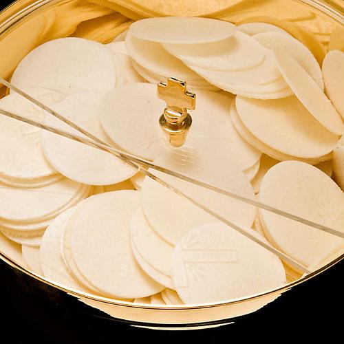 Ciborium with plexiglass rotating lid 3