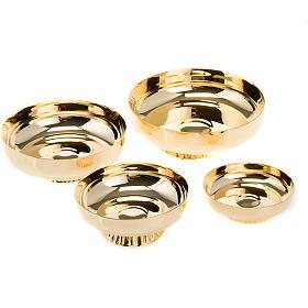 Cálices, Píxides, Patenas em Metal: Patenas com base moldada