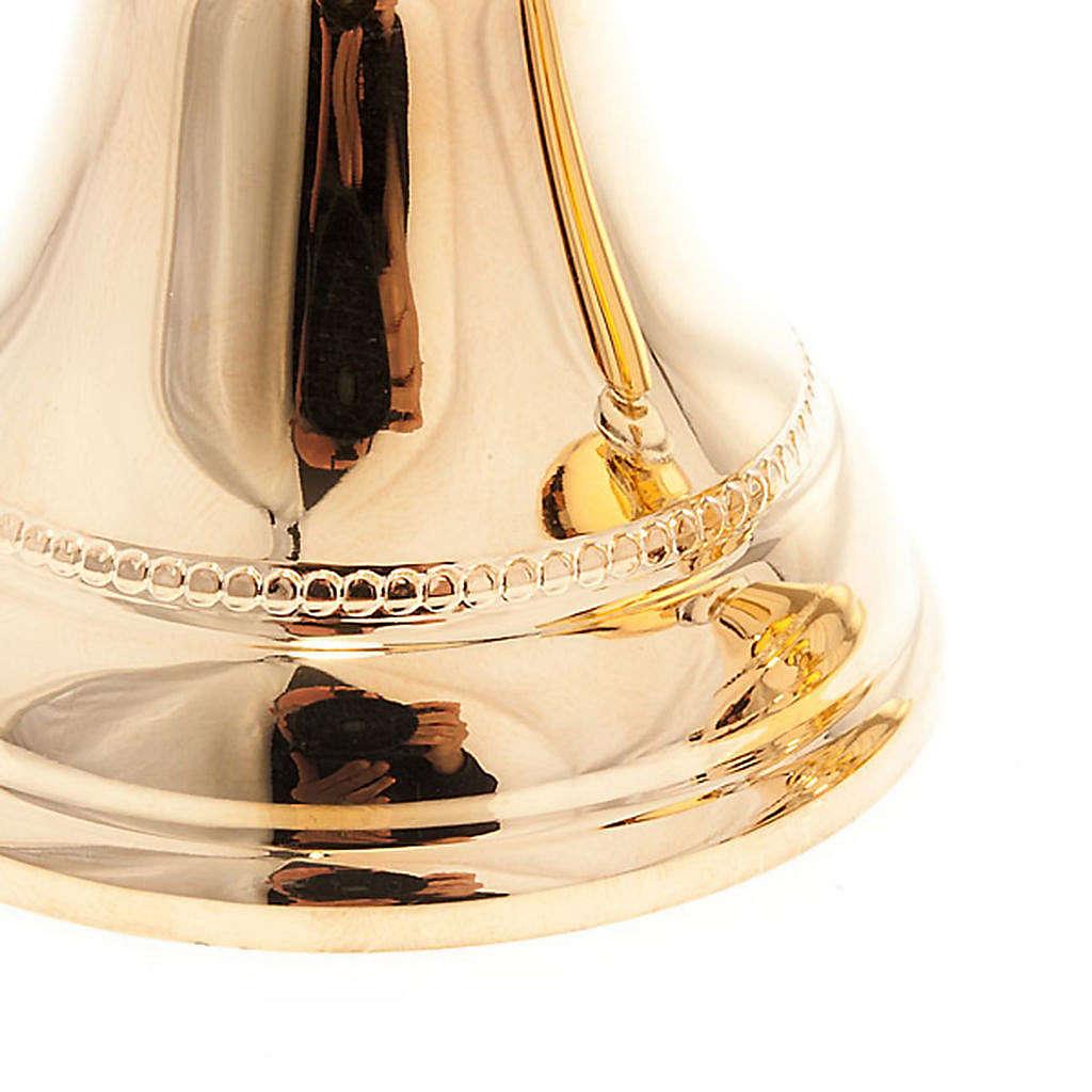 Cálice e cibório latão dourado 4