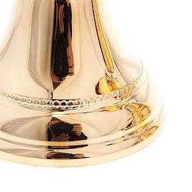 Cálice e cibório latão dourado s4