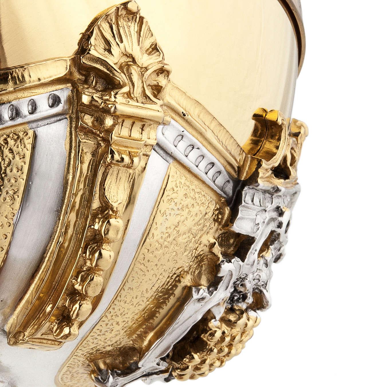 Calice argento e Pisside dorata argentata natività 4