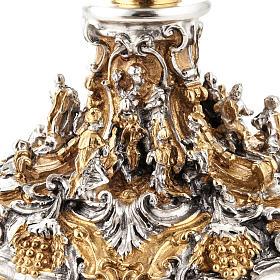Calice argento e Pisside dorata argentata natività s7