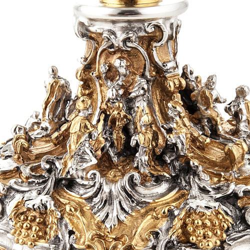 Calice argento e Pisside dorata argentata natività 7