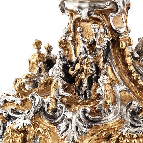 Calice argento e Pisside dorata argentata natività 8