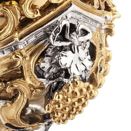 Calice argento e Pisside dorata argentata natività 11