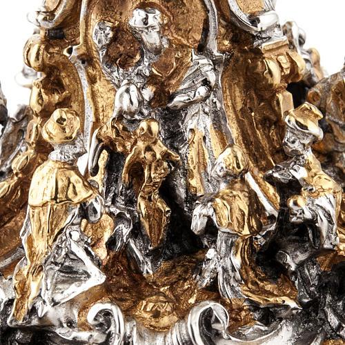 Calice argento e Pisside dorata argentata natività 12