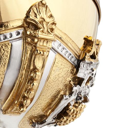 Calice argento e Pisside dorata argentata natività 18