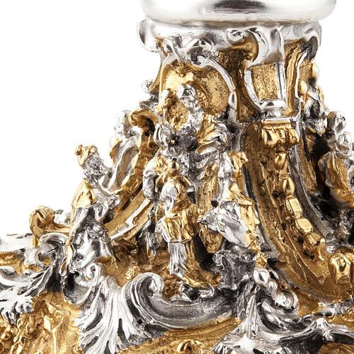 Calice argento e Pisside dorata argentata natività 20
