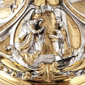 Calice argento e Pisside annunciazione crocifissione natività s7