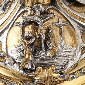 Calice argento e Pisside annunciazione crocifissione natività s9