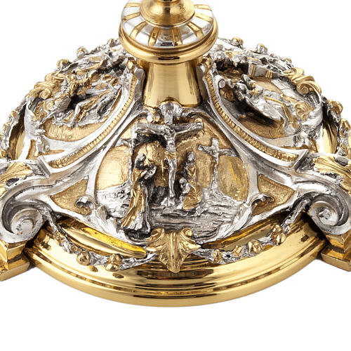 Calice argento e Pisside annunciazione crocifissione natività 2