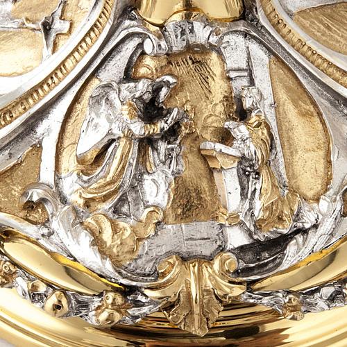 Calice argento e Pisside annunciazione crocifissione natività 7