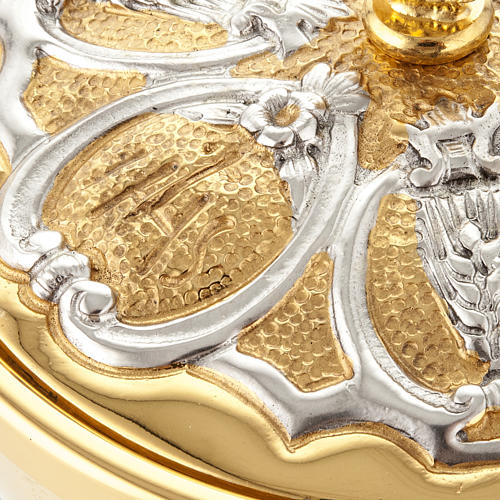 Calice argento e Pisside dorata argentata 3 putti 11