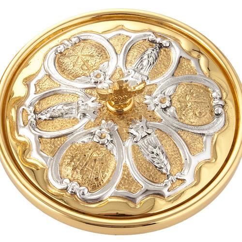 Calice argento e Pisside dorata argentata 3 putti 13