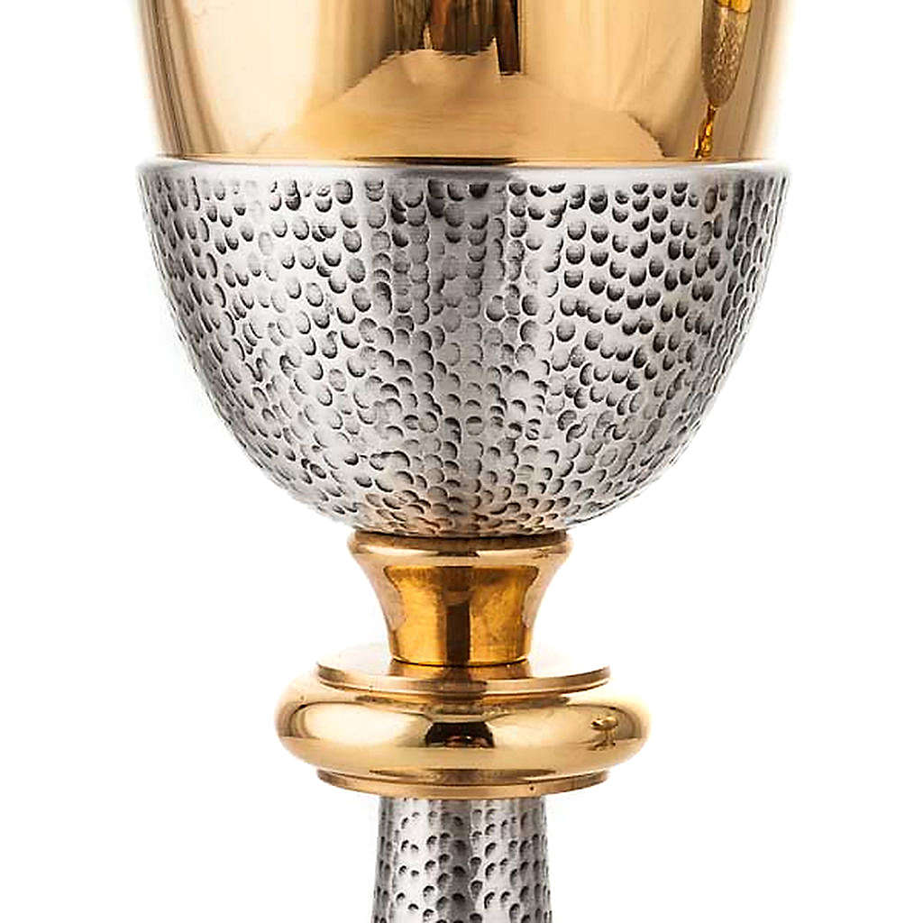 Chalice and ciborium Cross and Loaves 4