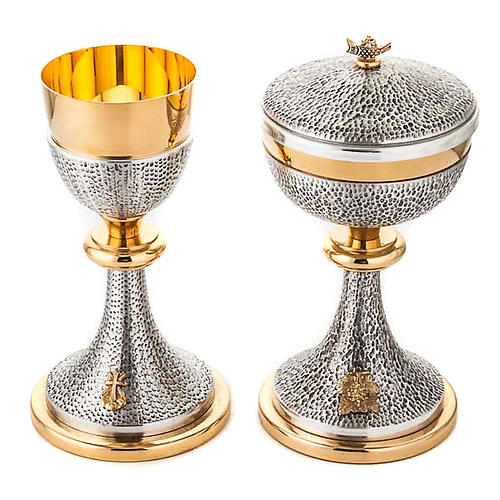 Chalice and ciborium Cross and Loaves 1