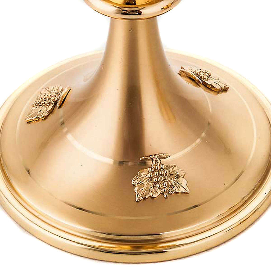 Chalice and ciborium gold plated 4