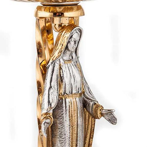 Chalice and ciborium Our Lady 4