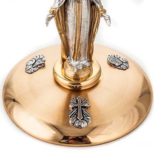 Chalice and ciborium Our Lady 5