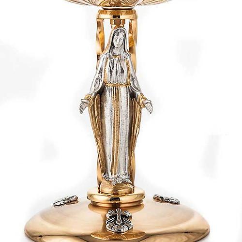 Chalice and ciborium Our Lady 6