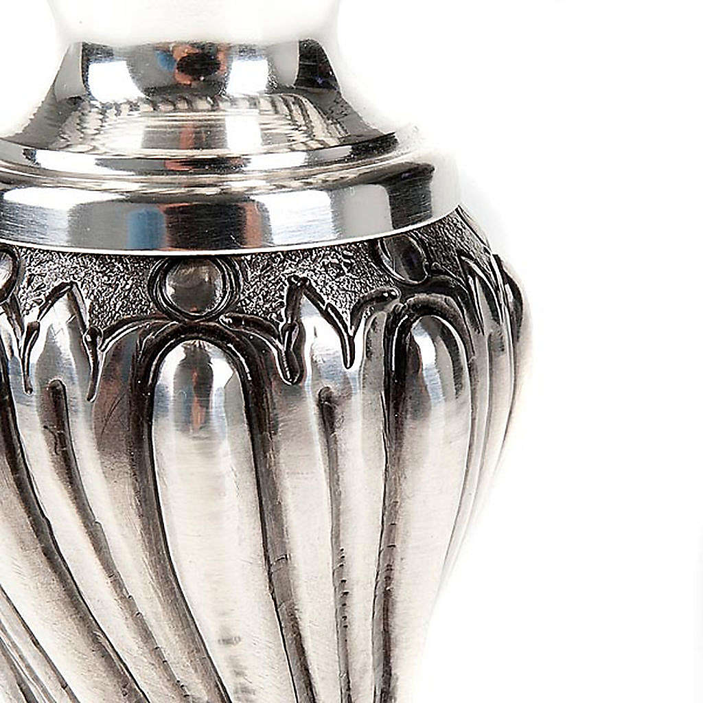 Calice argento 800/1000 e ottone decorato 4