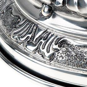 Calice argento 800/1000 e ottone decorato s4