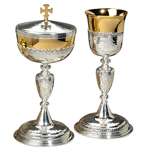 Chalice and ciborium floral design 1