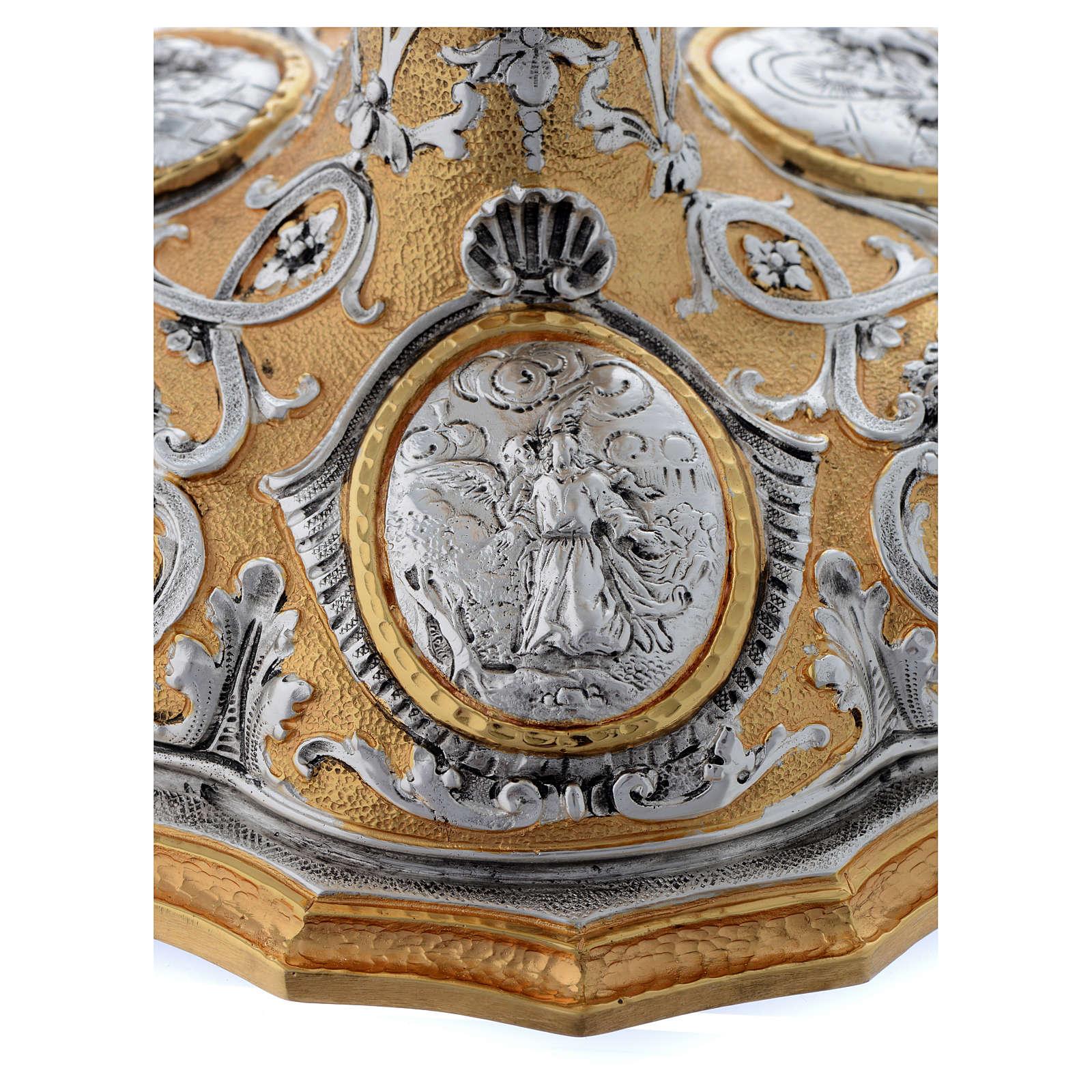 Calice fusione ottone bicolore argento 925/00 Passione 4