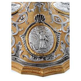 Calice fusione ottone bicolore argento 925/00 Passione s8