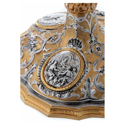 Calice fusione ottone bicolore argento 925/00 Passione 6