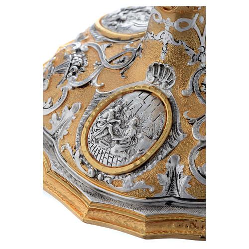 Calice fusione ottone bicolore argento 925/00 Passione 7