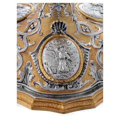 Calice fusione ottone bicolore argento 925/00 Passione 8