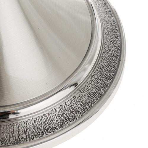 Calice e patena offertoriale ottone argento Miracoli 6