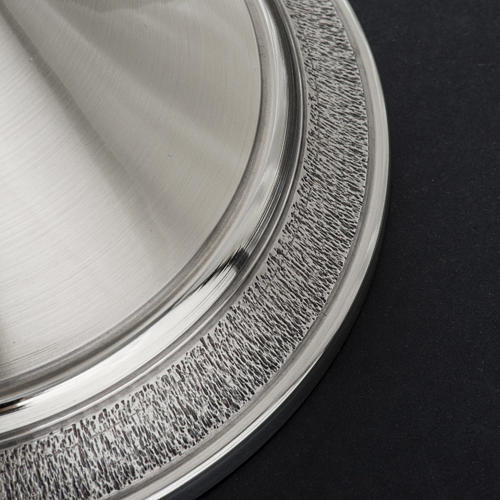 Calice e patena offertoriale ottone argento Miracoli 11