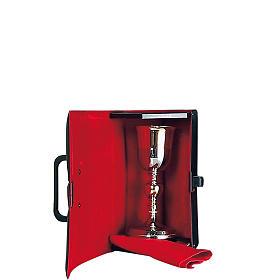 Valigetta porta calice interno rosso s1