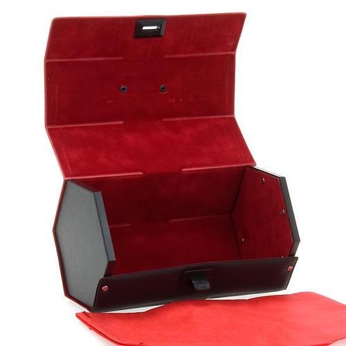 Valigetta porta calice interno rosso 3