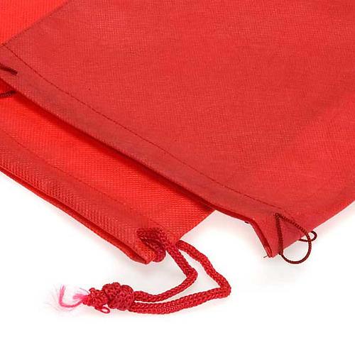 Bolsa porta cáliz rojo tela 2