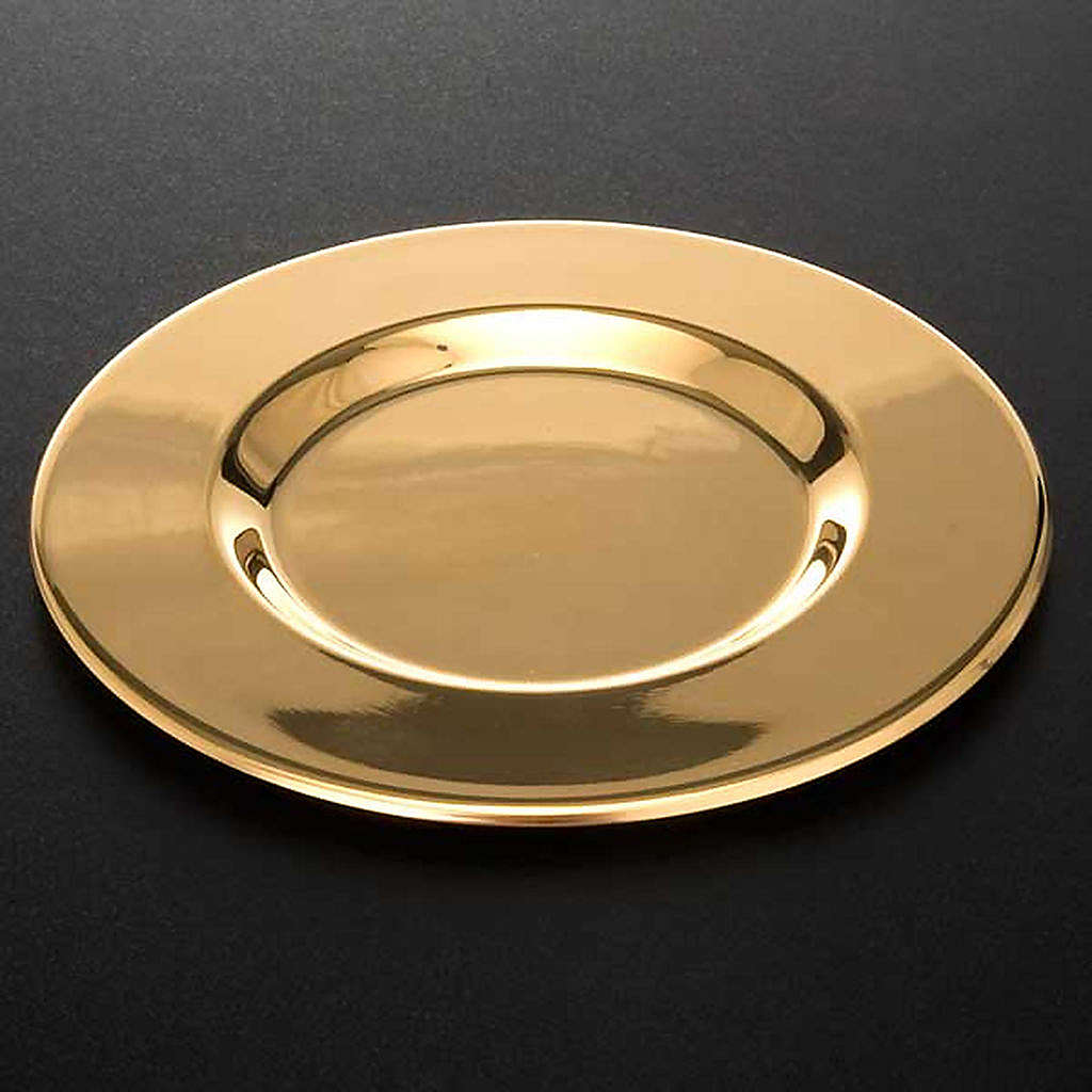 Paten with shaped bottom 4