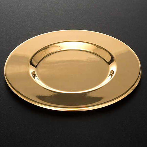 Paten with shaped bottom 3