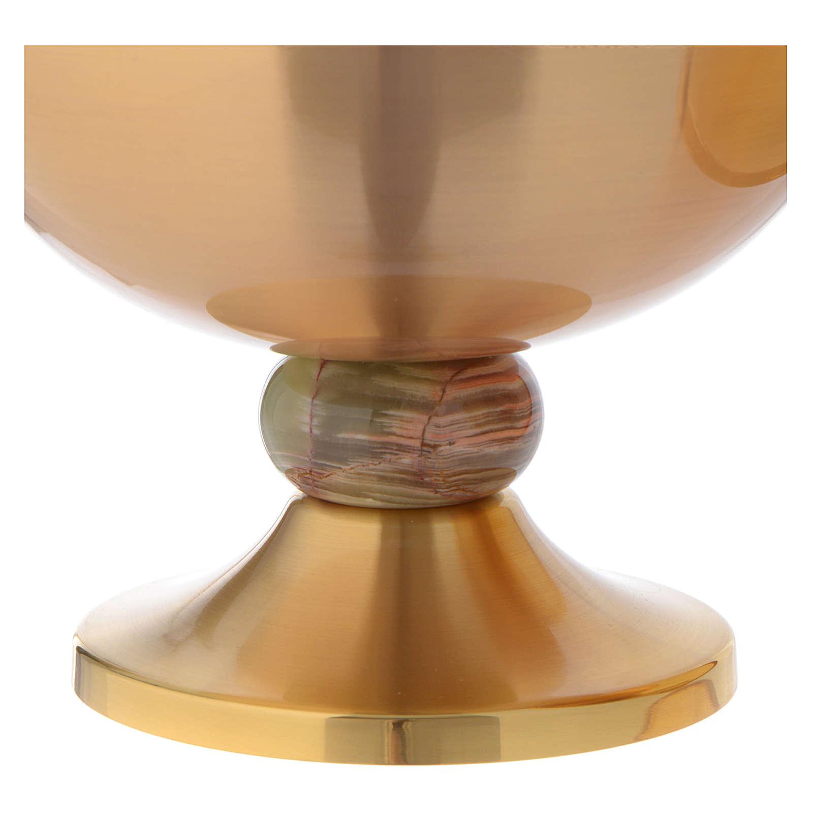 Ciborium with onyx node 4