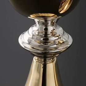 Chalice and Ciborium in brass, classic style s4