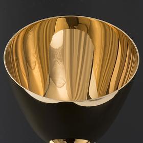 Chalice and Ciborium in brass, classic style s7