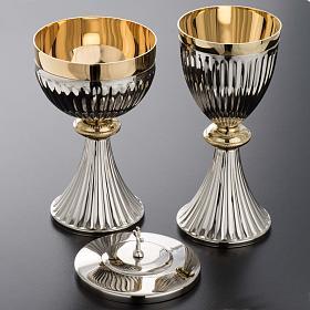 Chalice and Ciborium in brass, empire style s3