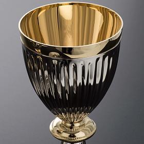 Chalice and Ciborium in brass, empire style s4